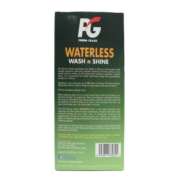 PERMA GLASS WATERLESS WASH & SHINE BASIC SET-2