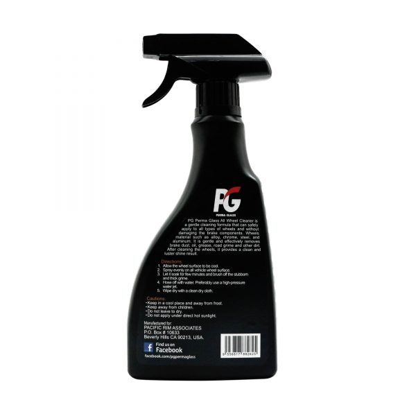 PG Perma Glass All Wheel Cleaner back